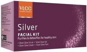 silver facial kit vlcc